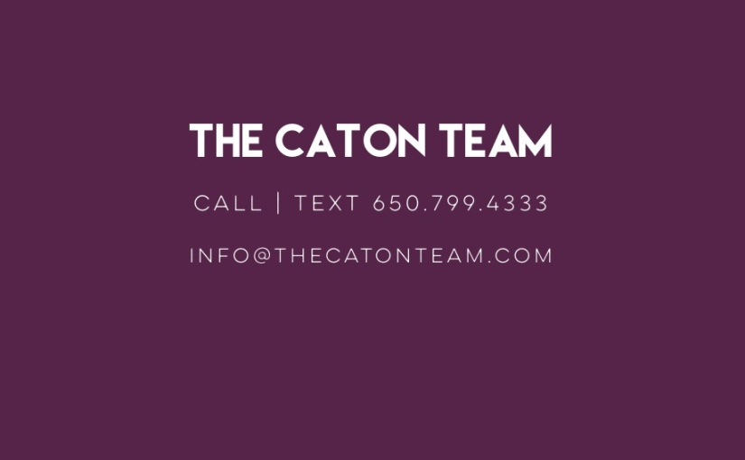 Working with The Caton Team…