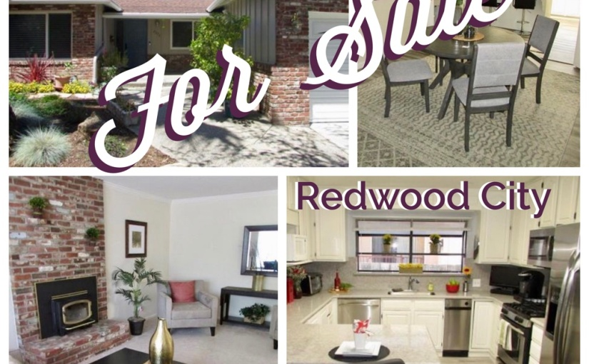 Open Sat 8.24 from 1-4pm – Wonderul Opportunity to Own in Redwood City