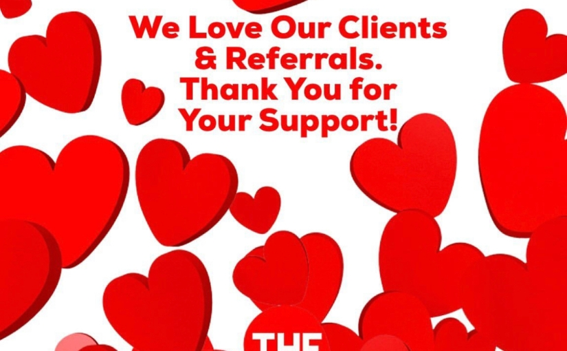 We Love Our Clients