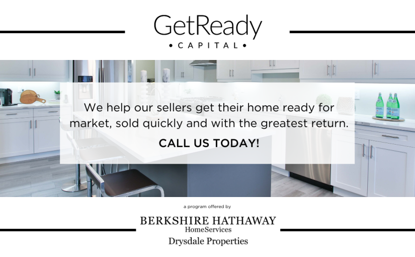 Get Ready Capital – Now Berkshire Hathaway can help Sellers preapre for market with an INTEREST FREE LOAN!