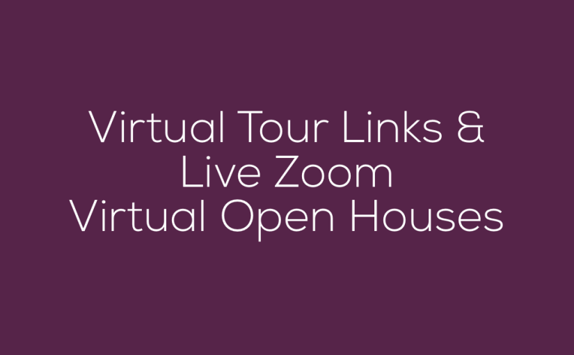 Upcoming Interactive Virtual Open House Tours
